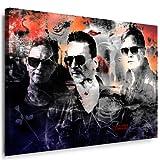 Kunstdruck Depeche Mode Bild Leinwandbild fertig auf