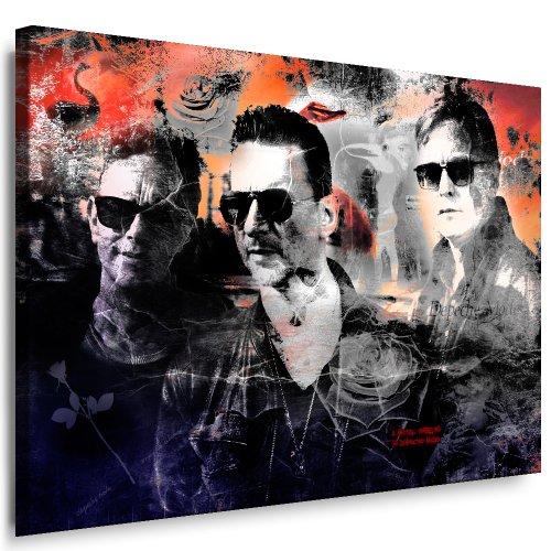 Cuadro de Depeche Mode, impresión en lienzo y montaje en bastidor, elemento decorativo, Pop Art