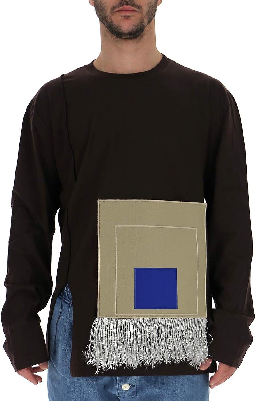 A COLD WALL CW9SMH26ACC191 Men's Burgundy Cotton Sweatshirt
