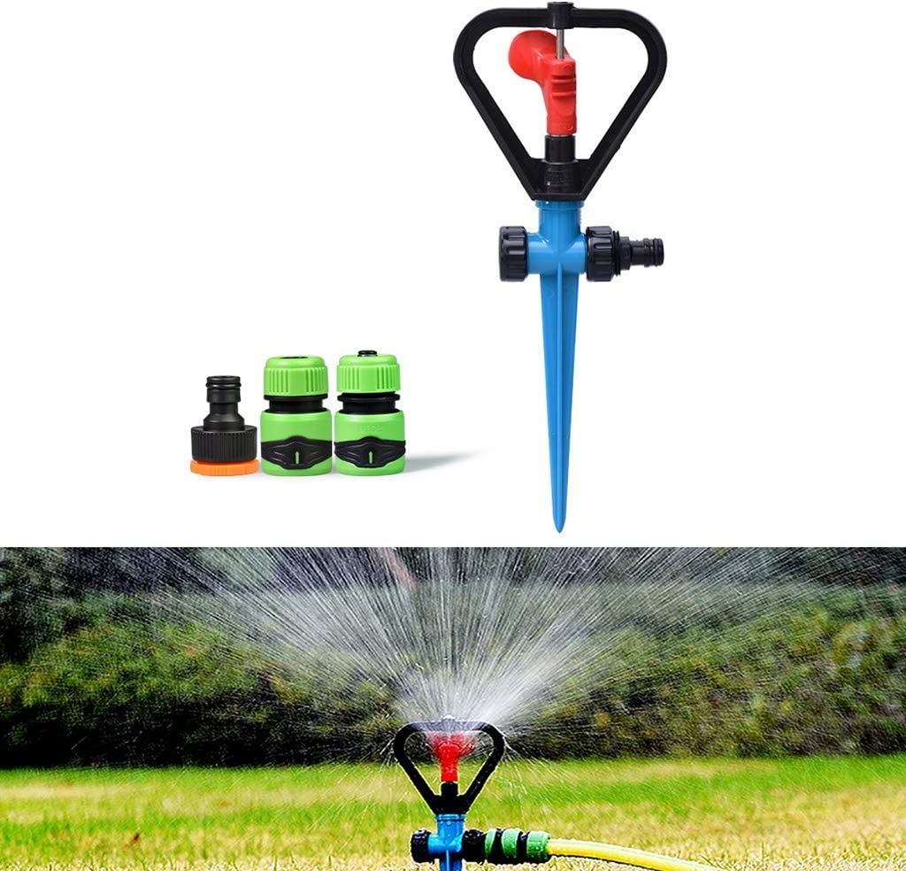 JHXL San Antonio Ranking TOP4 Mall Automatic Rotating Sprinkler Household Removable Garden Law