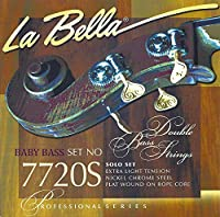 LA BELLA (ラベラ) ダブルベース(コントラバス)弦 7720S-BB Solo Extra Light Tension - Baby Bass Set