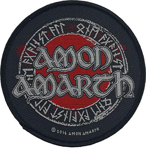 Amon Amarth Schriftzeichen Unisex Patch Standard 100% Polyester Band-Merch, Bands, Wikinger