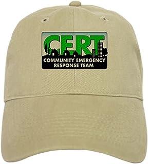 check out 2111c d6022 CafePress - CERT Cap - Baseball Cap with Adjustable Closure, Unique Printed  Baseball Hat