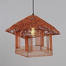Ma Teng schaduw + ijzer beige bruin oranje eenvoudige creatieve slaapkamer woonkamer restaurant studie kroonluchter/plafon...