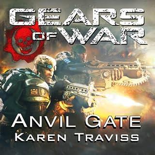 Gears of War: Anvil Gate audiobook cover art