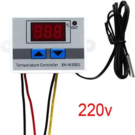 KKmoon XH-W3001 Regolatore di Temperatura con Display LCD Digitale Termostato Microcomputer Termocoppia Termostato