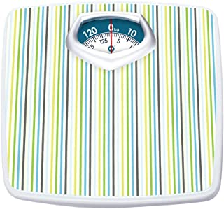 Bathroom Scale Batteryless Mechanical Scales, Health, Rotating dial/Metal Body, for Hotels, Families, Gyms