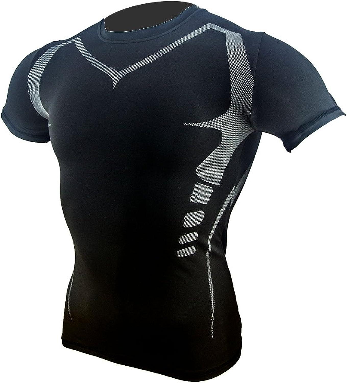 MINGCHUANG Men's Quick Dry Sport Compression Athletic Shirt