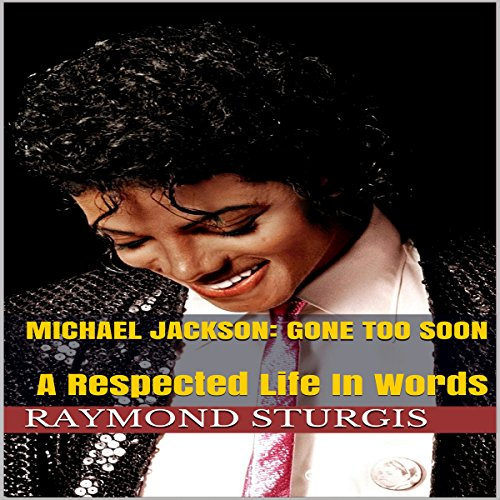 Michael Jackson: Gone Too Soon audiobook cover art
