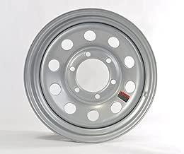 eCustomrim Trailer Wheel Rim 15X6 6-5.5 Silver Modular 2830 Lb. 4.27CB