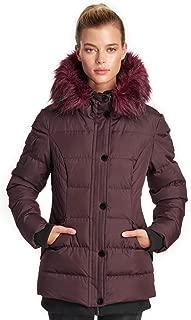Noize Women's Aspen Storm Parka Winter Insulated Faux Fur Hood Jacket