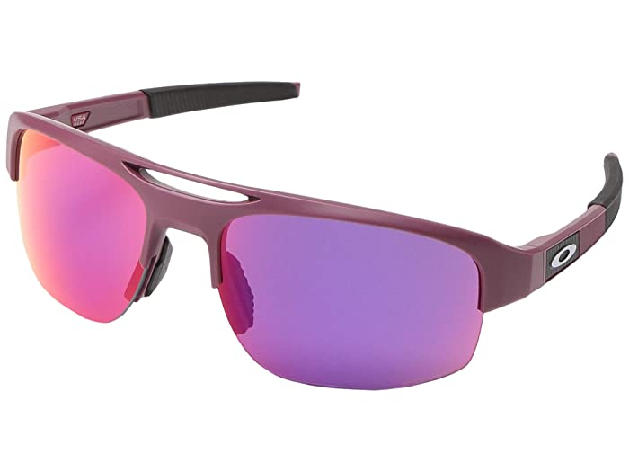 Oakley Mercenary (Matte Vampirella w/ PRIZM Road) Fashion Sunglasses