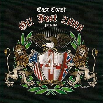 Live At East Coast Oi! Fest 2008