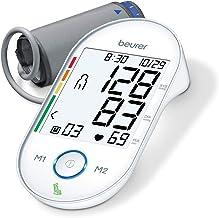Beurer BM55 Upper Arm Blood Pressure Monitor, Large Cuff | Automatic & Digital, 2-Users, XL Display, Irreg. Heartbeat Dete...