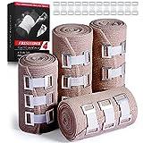 FRESINIDER Elastic Bandage Wrap 4 Pack(2 X 3