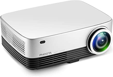 """Projector, PHOOTA 3600 Lumens Portable Video Projector 1280x768P HD Projectors - 200"""" Home Theater Movie Projector Support TV Stick PS4 Xbox Smartphones iPhone Laptops Mac Business Education"""