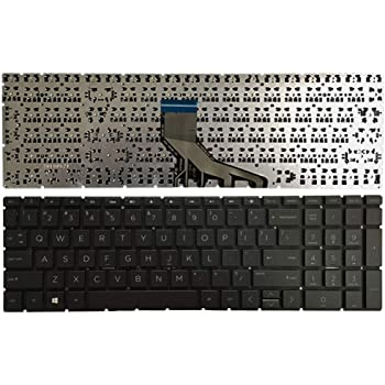 New US Silver English Backlit Laptop Keyboard Without Frame Replacement for HP Pavilion 15-CC563ST 15-CC564NR 15-CC565NR 15-CC566NR 15-CC567NR 15-CC593CA 15-CC593MS