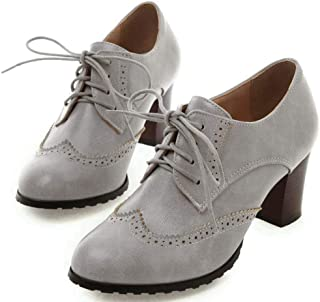 Oxfords - Grey / Oxfords / Shoes