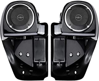 Lower Vented Leg Fairings, with 6.5 Inch Speakers for 2014-2019 Street Glide Road Glide Road King Electra Glide Aftermarket Harley Davidson Parts