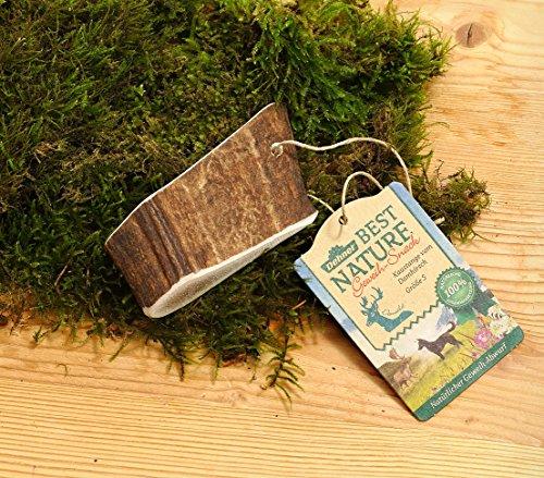 Dehner Best Nature Hundesnack, Kaustange, Geweih vom Damhirsch, S