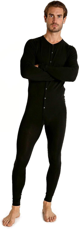 Jack Adams USA Lumberjack Union Suit Black at  Men's Clothing store