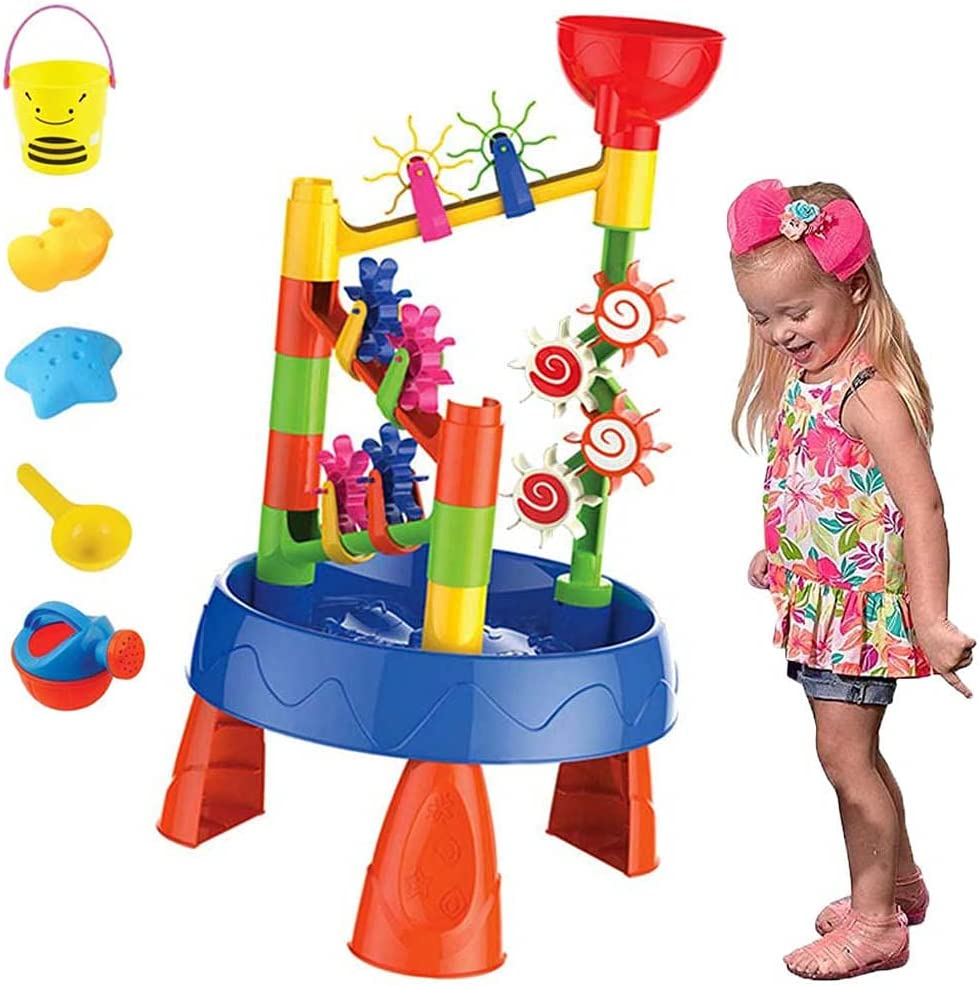 National uniform free shipping FXQIN Sand Water Table for Splashing Toddlers Play Baltimore Mall