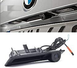 LeHang Cámara de Retroceso de estacionamiento de visión Trasera de Color CCD para BMW Serie 3 Serie 5 BMW X5 X1 E82 E88 E84 E90 E91 E92 E93 E60 E61 E70 E71 E72 (2011-2018)