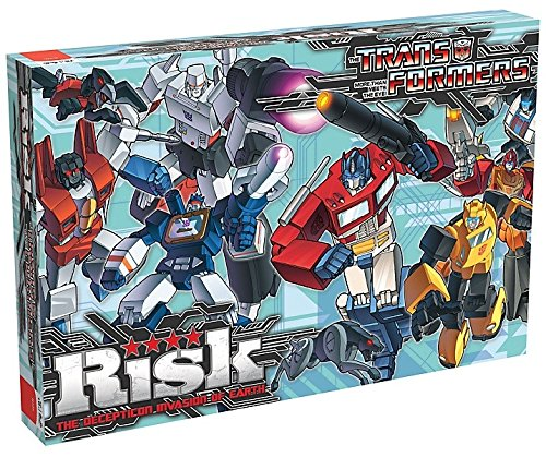 Winning Moves - 332411 - Transformers - Jeu De Plateau Risk