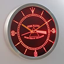 pink floyd neon clock