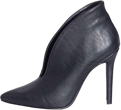 Zapatilla con tacón Fino de Piel auténtica. Größe 37. Fabricada en Italia. Tacto de 10 cm. Azalea Studio Creaciones ANP-00 Zapato Femenino de Alta Moda.