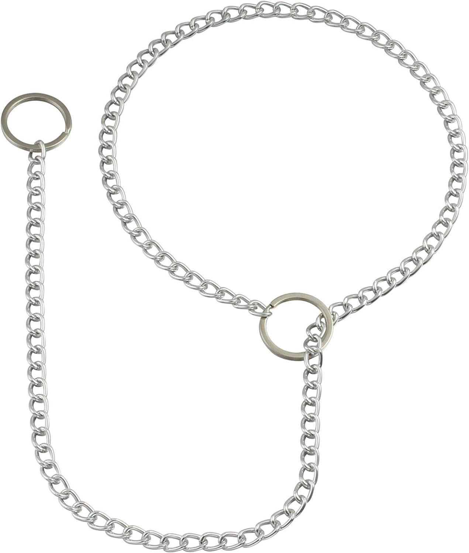 MILAKOO Punk Chain Choker O-Ring Pendant Necklace Long Multilayer Chunky Choker