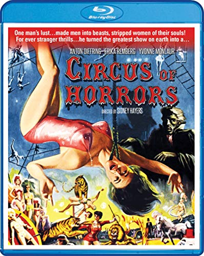 Circus Of Horrors [Blu-ray]