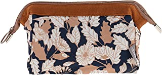 SunniMix Waterproof Travel Organizer Cosmetic Makeup Tools Bag Toiletry Pouch Case - Brown
