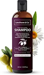 LetsShave & Co. Hydrating Shampoo for dull, damaged, dehydrated hair, 250 ml
