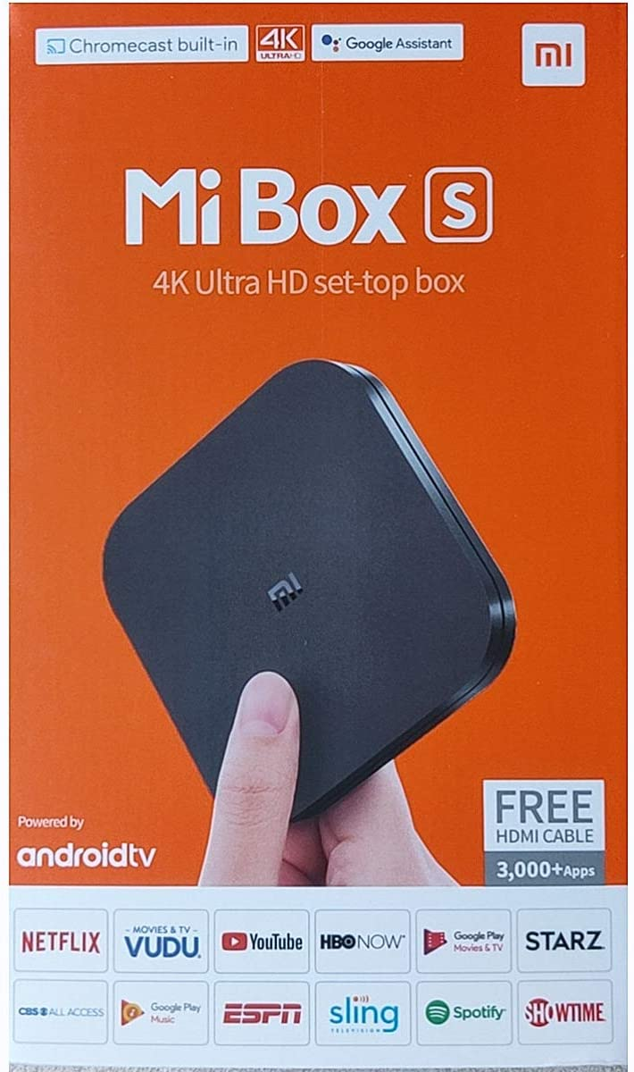 Dedication Xiaomi Mi Box S Android TV Streamin Remote Assistant Google Special sale item with