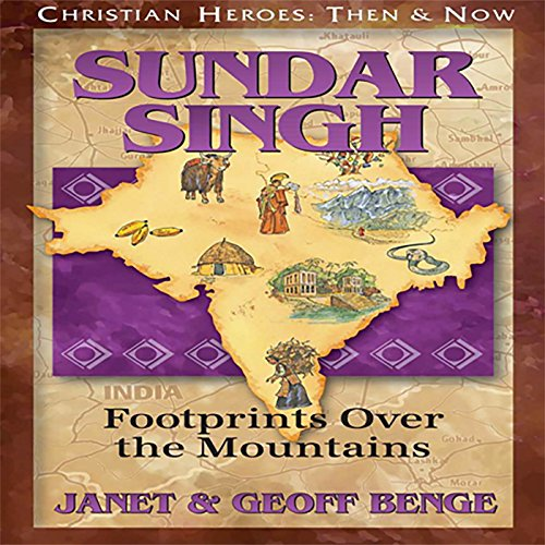 Couverture de Sundar Singh: Footprints over the Mountains