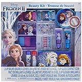 Townley Girl Kit de belleza Disney congelado, bálsamos labiales, brillo, clavos, gemas, pegatinas, pasadores