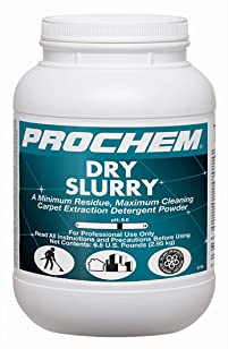 Prochem S776-1m Dry Slurry Professional Carpet Cleaning Concentrate (Powder), Maximum Cleaning, Minimum Residue, Truckmoun...