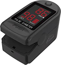 TrackAid Pulse Oximeter Portable Finger Oxygen Saturation and Pulse Rate Monitor