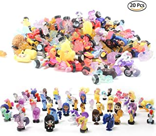 QTFHR Random Cute Miniature Doll, Mini Cute Bottom with Suction Cup Doll Toy Cake/ Plant/ Car Decoration (20 Pcs)