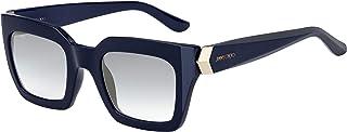 Sunglasses Jimmy Choo Maika/S 0PJP Blue/Ez Green Silver Mirror