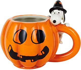 Peanuts Snoopy Jack-o'-Lantern Mug, 15 oz.