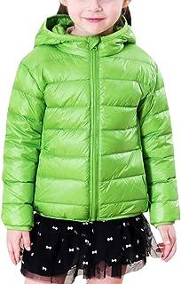 ca6e66933 Niños Niñas Infantil Abrigos de Plumas con Capucha Cálido Ligera Chaquetas  de Invierno