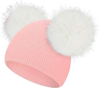 Amazon.es: gorros de lana con pompon - Niña: Ropa