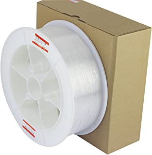 CHINLY 8858ft(2700m)/roll Diameter 0.03in(0.75mm) PMMA Plastic End Glow Optical Fiber Light Cable for LED Fiber Optic Star Ceiling Light lamp