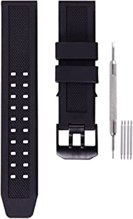 23mm Rubber Watch Band Strap Fits Casio Replacement Luminox 3050 8800 and 3950 Series