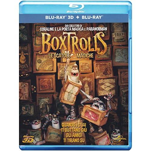 Boxtrolls - Le Scatole Magiche (Blu-Ray + Blu-Ray 3D);The Boxtrolls