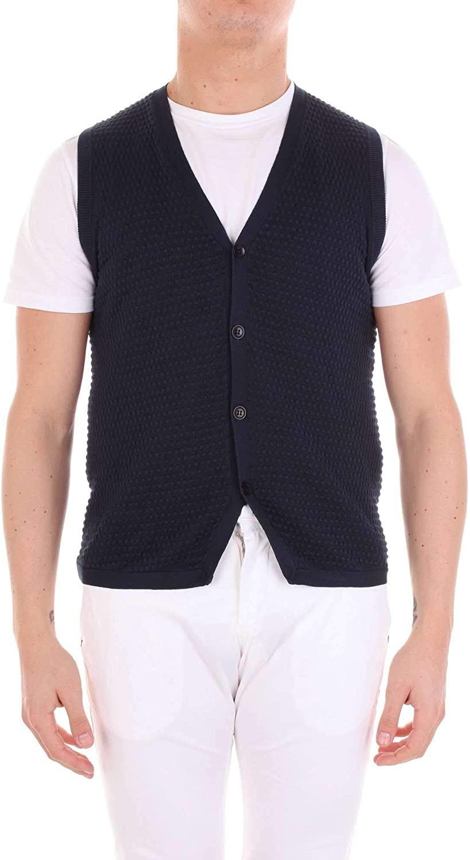 JEORDIE'S Men's 115534400 blueee Cotton Vest