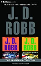 J. D. Robb Collection – Fantasy in Death and Indulgence in Death (In Death Series)