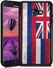 Samsung Galaxy A5 2017 Phone Case State Flag of Hawaii Series Slim-Fit Anti-Scratch Shock Proof TPU Case for Samsung Galaxy A5 2017-Black